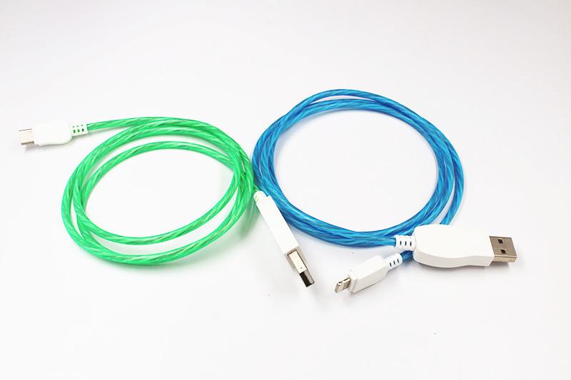 发光USB数据线